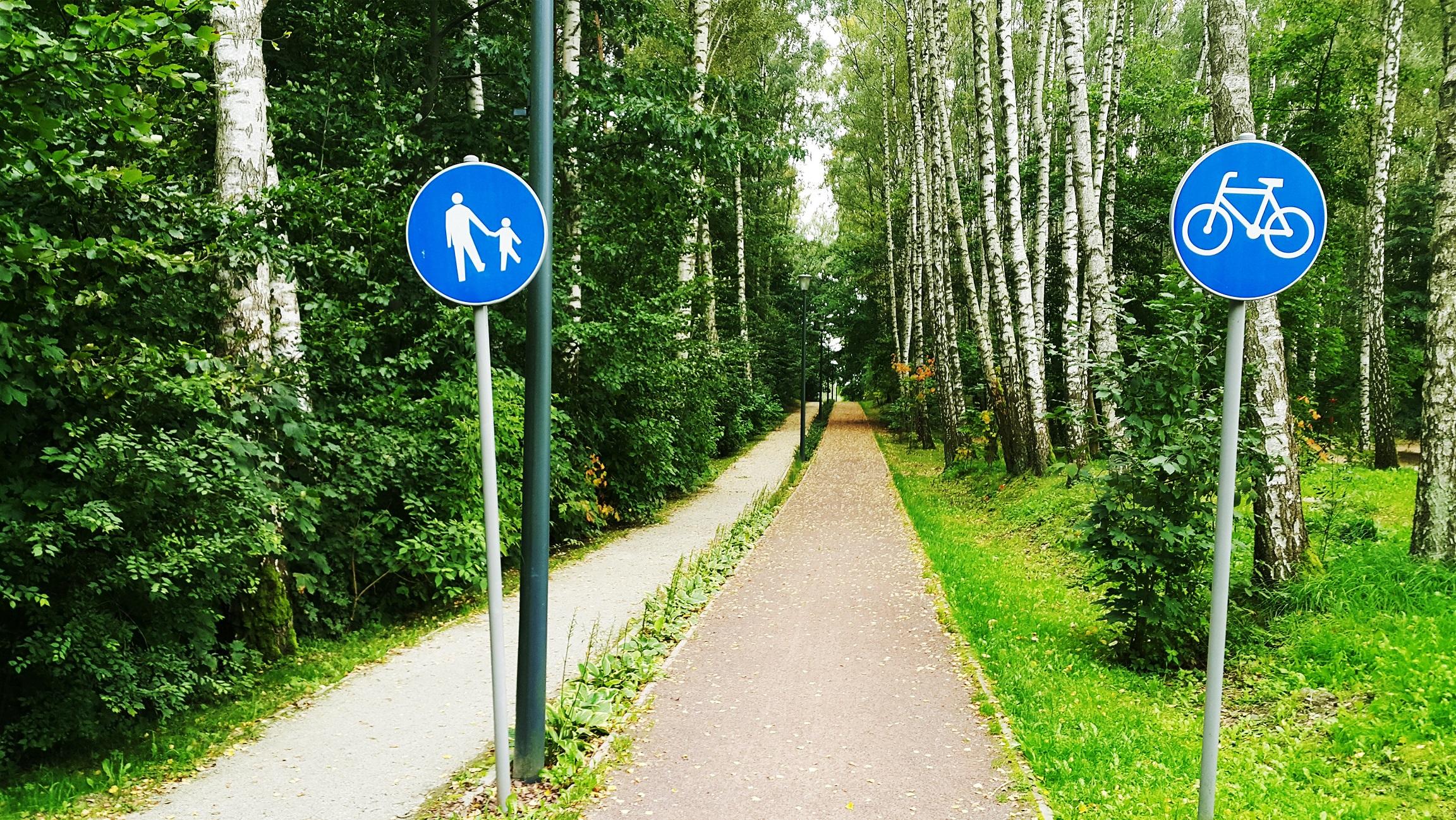 nawierzchnie na ścieżki rowerowe